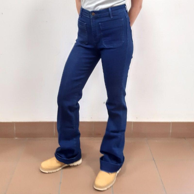 Wrangler Flare Jeans Donna