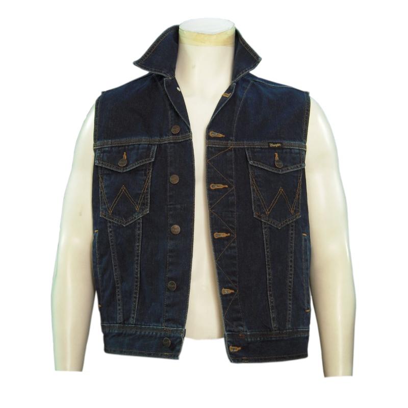 quality design 6be81 ee490 Wrangler - Gilet jeans Wrangler